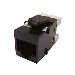 RED JACK RJ-45 Hembra  CAT.6 AMP NEGRO